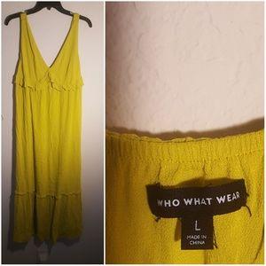 Who what wear Size Large Xhilaration Dress